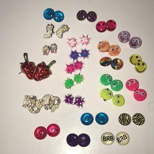 Lot of unused earrings